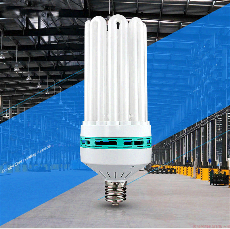 E40 8U 185W 300W 400W Energy Saving Tube High Power Bulb Home White Light Indoor Industrial Lighting Lamp CFL Fluorescent
