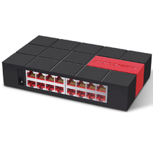 SG116M Mini 16 Cổng Máy Tính Để Bàn Gigabit 1000 Mbps Ethernet Mạng LAN Hub Đầy Đủ hoặc Half duplex Trao Đổi nhanh Switcher