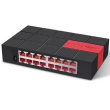 SG116M Mini 16 พอร์ต Gigabit 1000 Mbps Ethernet LAN Hub Full หรือครึ่ง duplex แลกเปลี่ยน fast Switcher