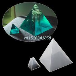 JAVRICK новые ювелирные инструменты силиконовые полимер для поделок Сделай Сам Пирамида изготовление геометрических ювелирных изделий кулон