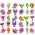 Boneca de brinquedo pet shop lps mini pequeno animal de estimação bonito cat Dog Lizard Animais elfos boneca pvc Você pode escolher o estilo