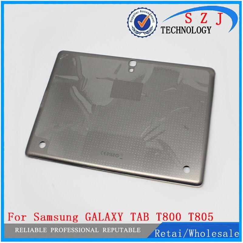 Оригинальный Батарея чехол для Samsung Galaxy Tab S 10.5 T800 t805 задняя крышка Батарея двери Корпус чехол Замена Бесплатная доставка