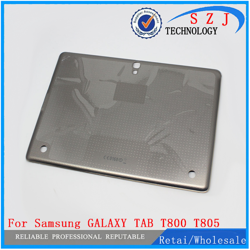 Original Battery Cover For Samsung GALAXY TAB S 10.5 T800 T805 Back Cover Battery Door Housing Case Replacement Free Shipping keneksi q3 gold