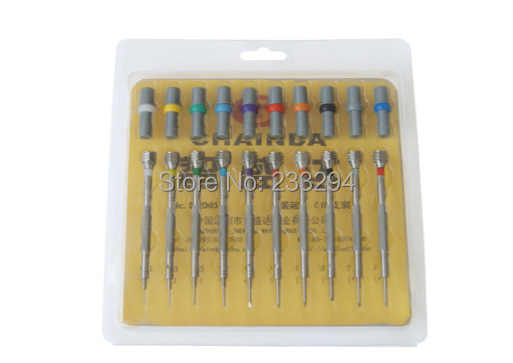 High Precision Screwdrivers SE of 10 Screwdrivers kit Watch Jewlery Repair Tools