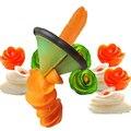 Herramientas de cocina utensilio de cocina creativa fruit vegetable peeler slicer rallador tallar volumen flower accesorios de cocina cortador espiral