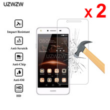 2pcs For Huawei Y5 II Premium 2.5D 0.26mm Tempered Glass Screen Protector For Huawei Y5 II Y5II 3G/4G Protective Glass(China)