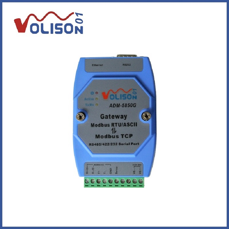 Industrial Modbus gateway server Modbus TCP to MODBUS RTU ASCII with RS485 422 232 Ethernet Port