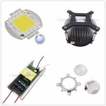 100W 100Watt High Power White LED Light + Heatsink Cooler+100W Driver