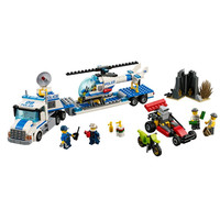 410pcs Bela 10422 Urban City Police Force Helicopter Truck Building Block Toys Compatible With Legoingly City