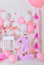LIFE MAGIC BOX Wrinkle-free Seamless Washable Birthday Background First Photo Backdrop