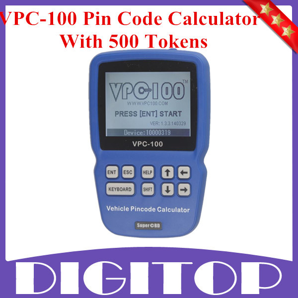 High Quality VPC-100 Pin Code Calculator Hand-Held With 500 Tokens  Update Online Fast Shipping  цены