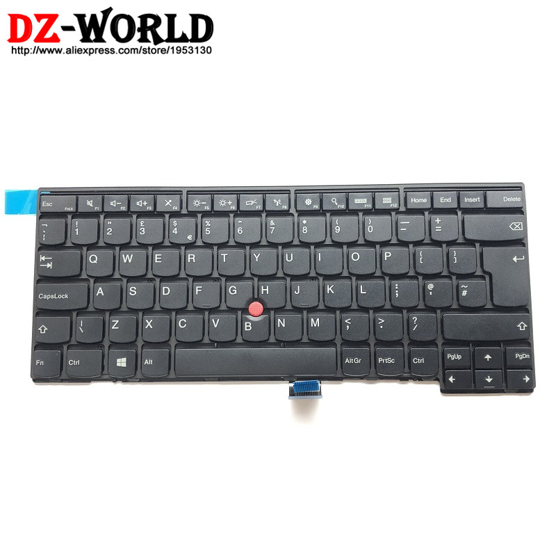 New Original for Lenovo Thinkpad T440 T440S T431S T440P T450 T450S T460 UK English Keyboard Teclado 04Y0853 0C02244 hasbro my little pony e0185 пони с блестками
