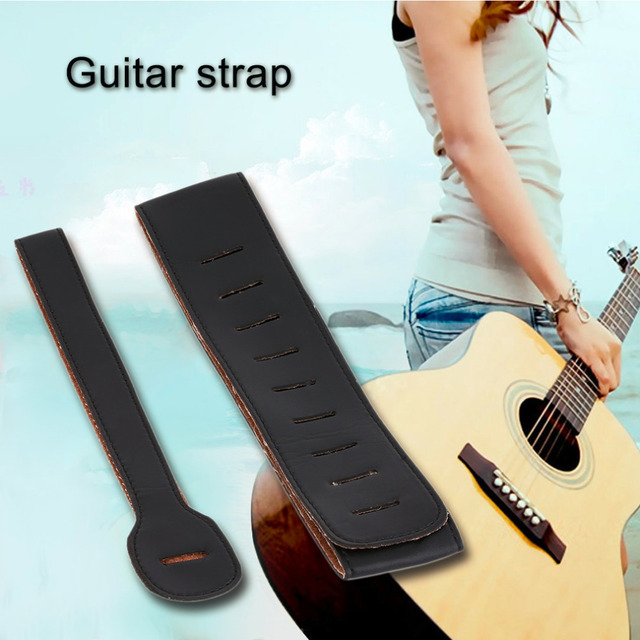 Guitar Strap Bass Acoustic Electric Unbranded Leather Best Guitar straps For Electric Guitar And Ballad Guitar free shipping