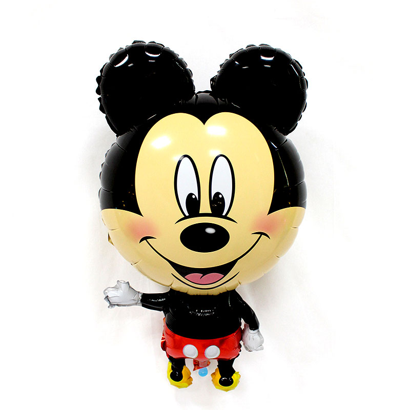 1pcs Large Mickey Minnie Foil Balloons Classic Toys Inflatable Helium Balloon Ha
