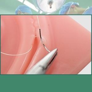 Image 3 - 3D Lifelike simulator for training laparoscope  surgical suture  skin kit model medical training simulators Suture Practice  pad