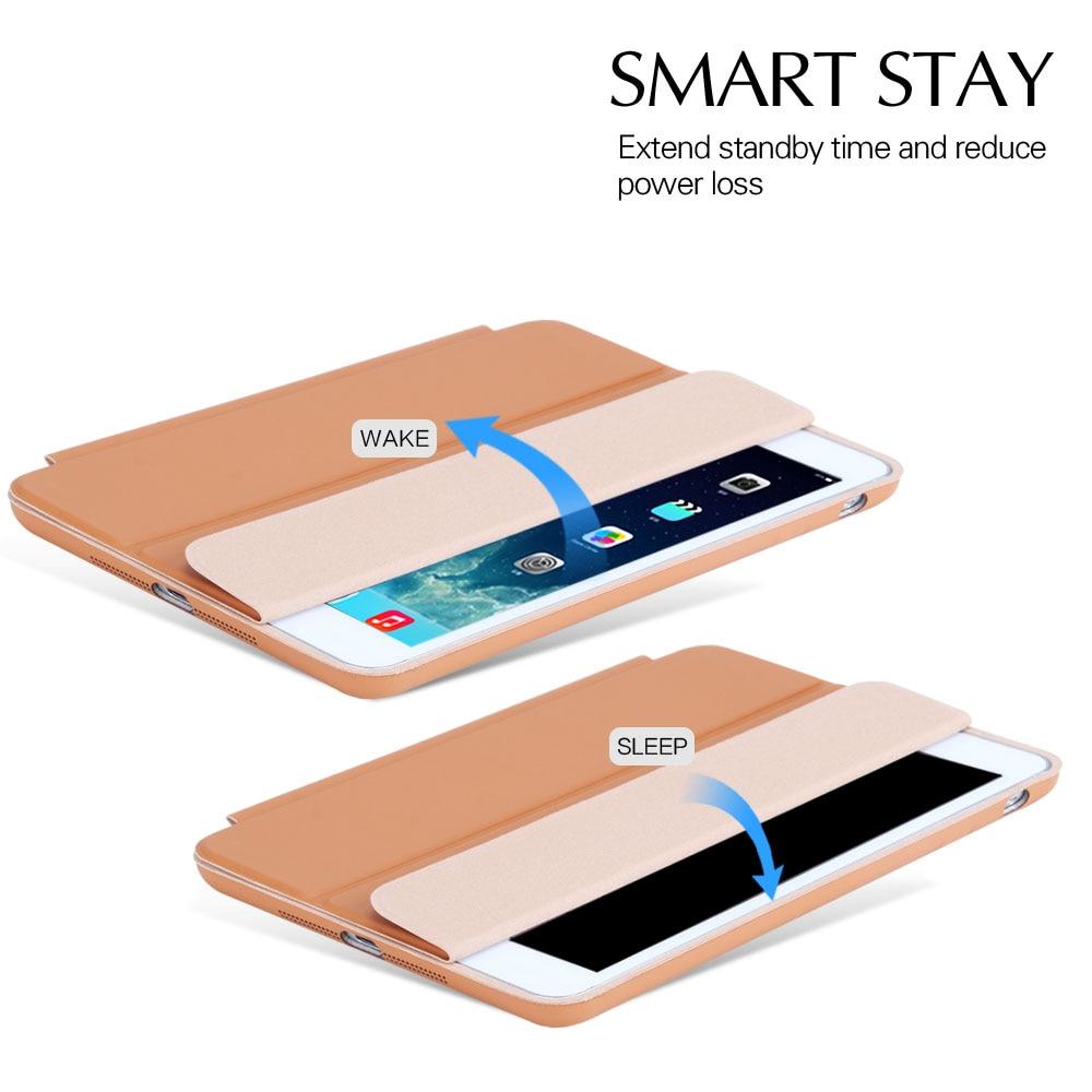Ipad mini 2 için kılıf, PU deri Akıllı Kılıf Için iPad Mini 3 - Tablet Aksesuarları - Fotoğraf 2