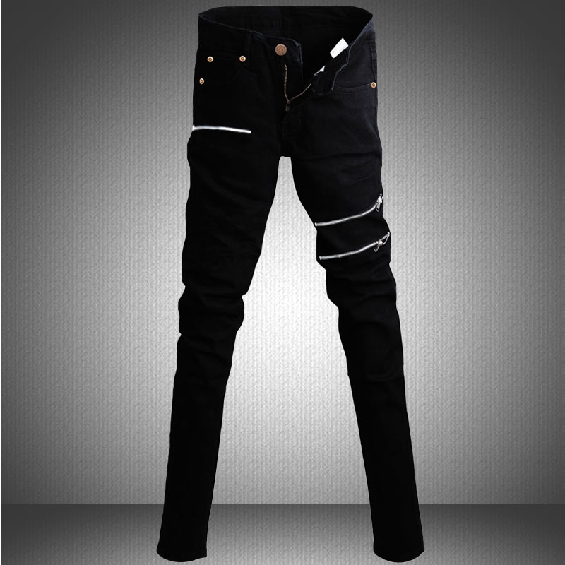 Aliexpress.com : Buy Winter Hot Sale Skinny jeans for Men solid ...