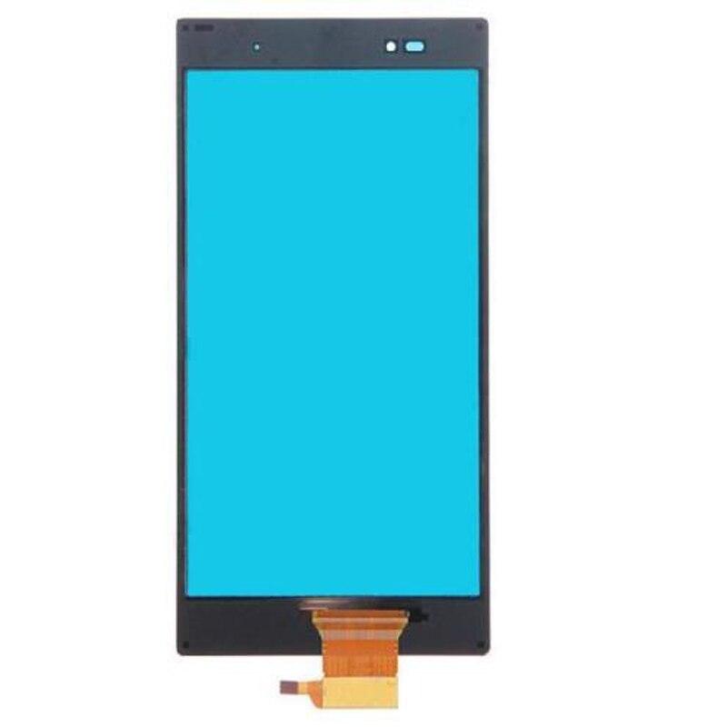 Noir Pour Sony Xperia Z Ultra XL39h XL39 Avant Écran Tactile Digitizer Panneau Verre Capteur