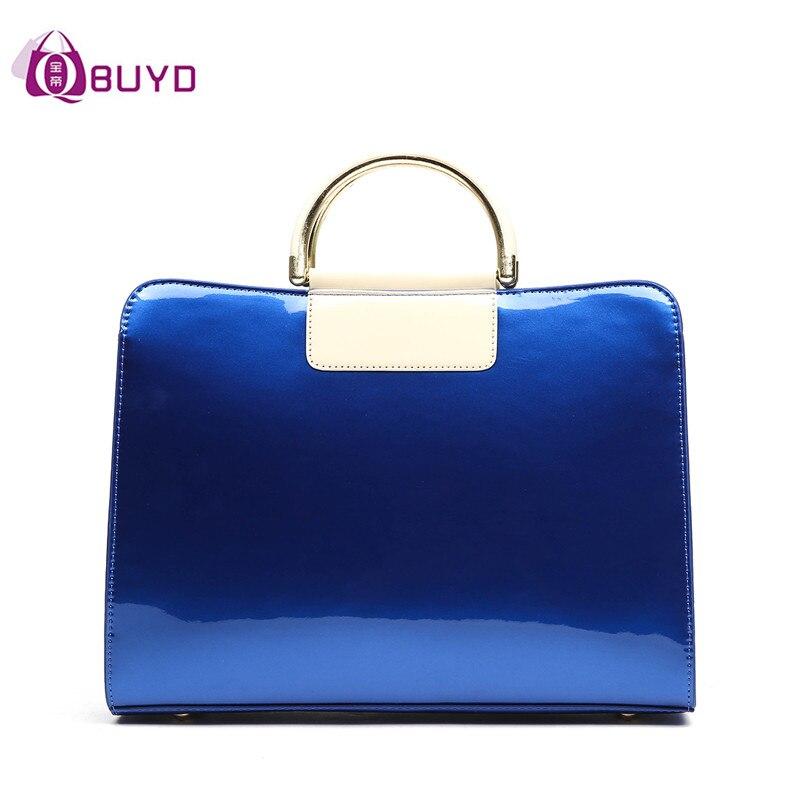 Popular Leather Handbag Blue-Buy Cheap Leather Handbag Blue lots ...