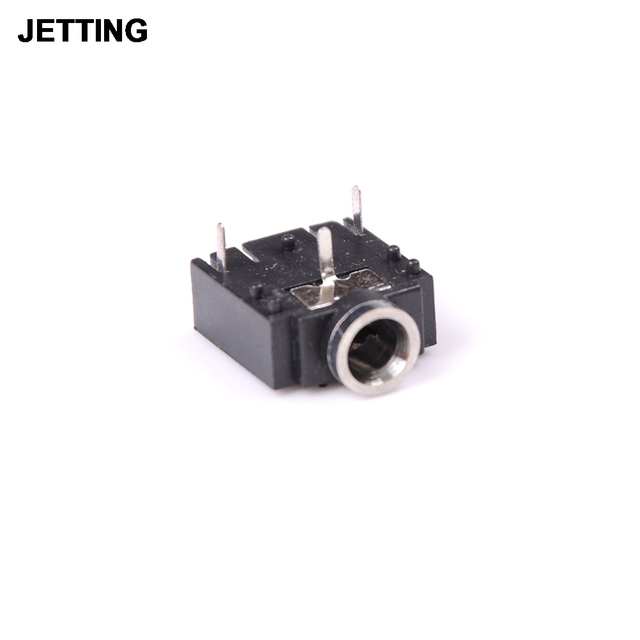 10 pcs 3 pin pcb mount female 3 5mm stereo jack socket connector rh aliexpress com