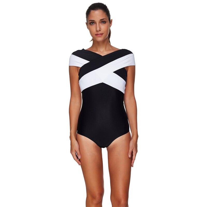 2018 Women's Swimwear Plavky Reversible Maillot De Bain Indoor Swimsuit Large Size Sports Swimwear Bandage Bikini Suit Seafolly