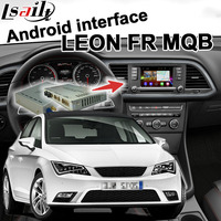 Android 6,0 gps навигация коробка для сиденья Леон Volkswagen Passat Golf7 Tiguan и т. д. MQB системы видео интерфейс с carplay waze