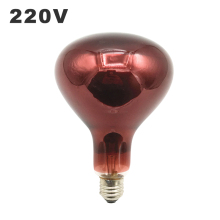 220V инфракрасный физиотерапии лампа E27 Тепловая терапия боли в спине лампы 150w 250w 275W взрывозащищенные нагревательные жаркое светильник лампочка