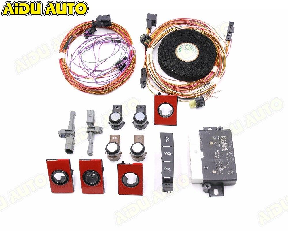 Utilisation adaptée pour VW Golf 7.5 MK7.5 VII aide au stationnement automatique intelligente aide au stationnement PLA 3.0 mise à niveau 5QA 919 298 D