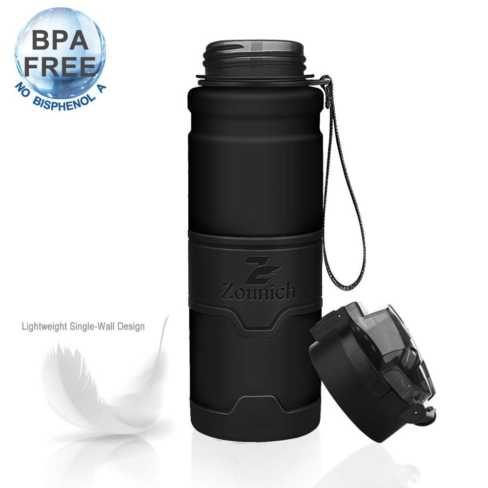 Zounich Plastic Bottle 500Ml 1000Ml Tour Outdoor Sport School Gym Leak Proof Seal Water Filter Bottles Tritan Bpa Free Drinkware Water Bottles     - AliExpress