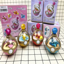 4pcs/set  Sleep Egg with Box Model Action Figure Toy for Gift