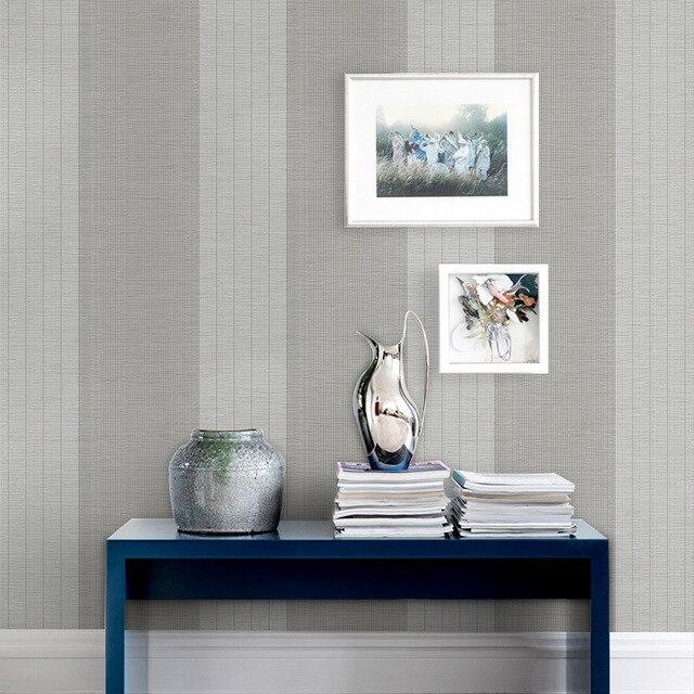 Beibehang Moderne einfache vlies tapete schlafzimmer wohnzimmer ...