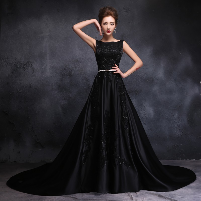 Online Get Cheap Black Gothic Wedding Dresses -Aliexpress.com ...