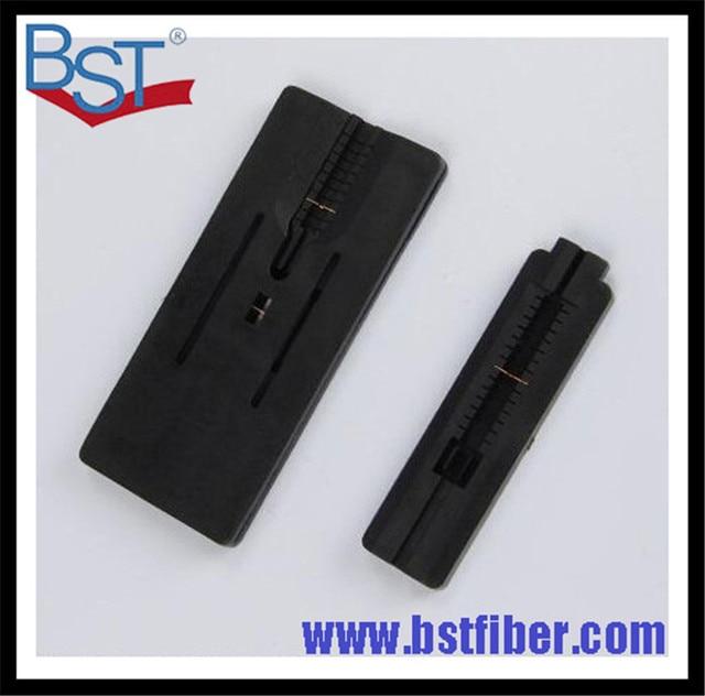 Ftth оптоволокна фиксированной длины оптического волокна для зачистки и покрытие зачистки резки guiderway