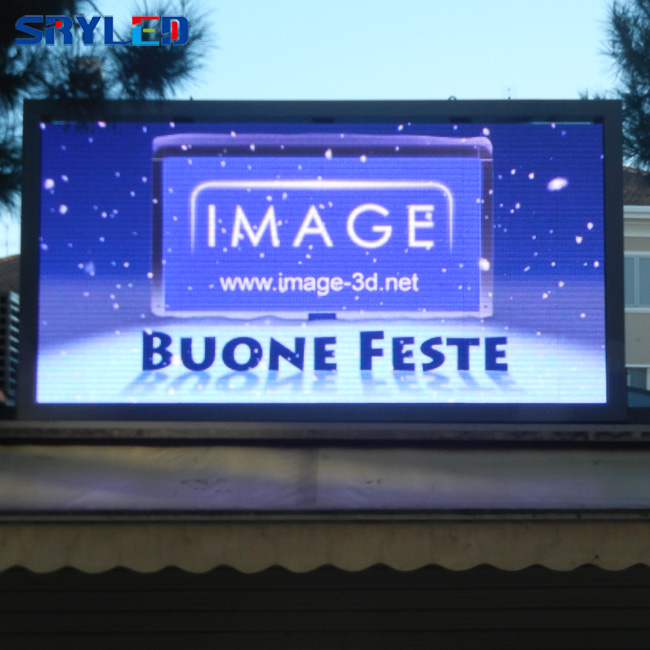 China Full Color P6 Outdoor LED Display Wall with High Brightness