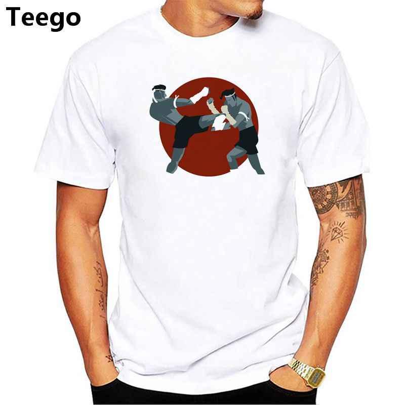 Camiseta de entrenamiento de verano con cuello redondo y manga corta para hombre 2018