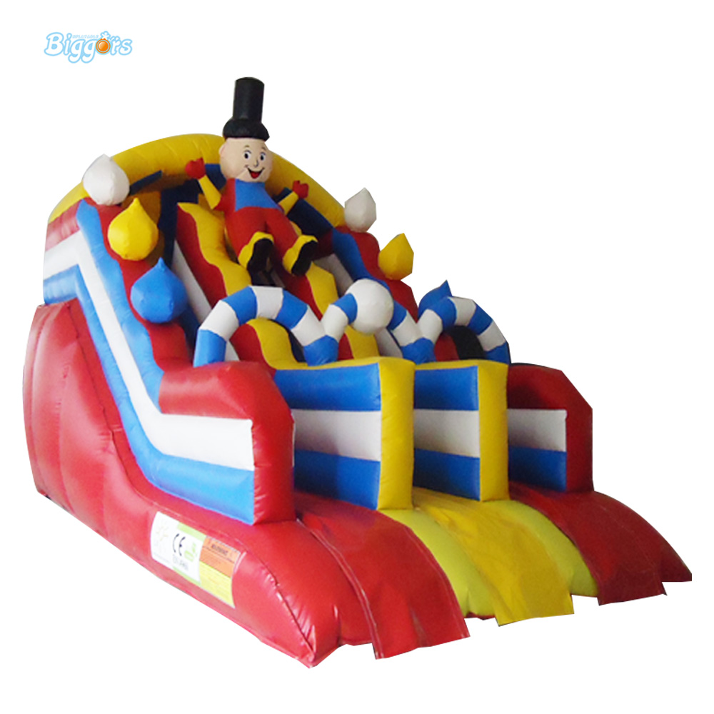 2017 New Hot sale Inflatable Water Slide For Children Business Rental And Water Park children shark blue inflatable water slide with blower for pool