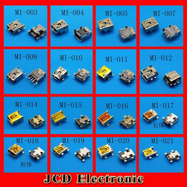 V3 mini usb jack wholesale outlet plug end 5-pin plug end smartphones 10P end plug Universal USB charging port