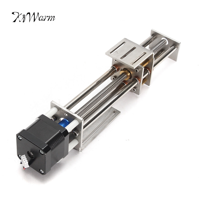 Mini CNC Z Axis Slide 150MM DIY Linear Motion Milling 3 Axis Engraving Machine With a Stepper Motor funssor 50mm 150mm slide stroke cnc z axis slide linear motion nema17 stepper motor for reprap engraving machine