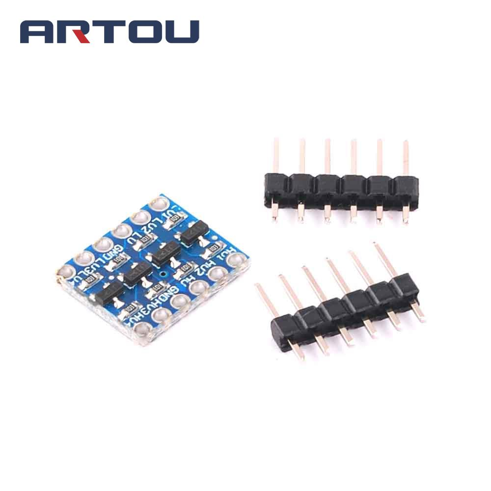 Arduino Compatible 4 Pin Anti-Reverse I2C//COM Connector And Cable A ×5 Pcs