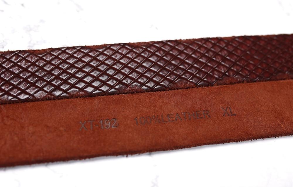 man belt leather
