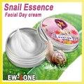 Hk fija la Nave Libre 2 UNIDS Oro Caracol Crema Hidratante Whitenning sedoso Cuidado Facial Caracol cara crema de Día de Reparación Anti wrinkel crema