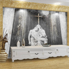 buy jesus cross wallpaper and get free shipping on aliexpress com