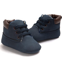 Brand New Baby Shoes Toddler Boys Girls Warm Boot Sneakers Soft Sole Leather Shoes Infant Boy Girl Toddler Shoes 0-18 Month(China)
