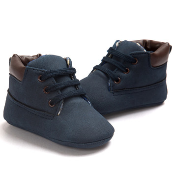 Brand New Baby Shoes Toddler Boys Girls Warm Boot Sneakers Soft Sole Leather Shoes Infant Boy Girl Toddler Shoes 0-18 Month