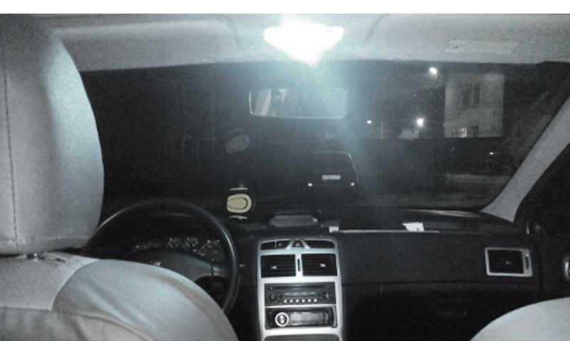 1x T10 Светодиодная лампа w5w дневные ходовые огни 194 168 Габаритные огни чтения подкладке замена лампы подсветки номерного знака 12V 6000k белый стайлинга автомобилей
