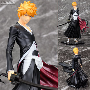Japanese Anime Figurine Bleach Kurosaki Lchigo Brinquedos 20cm PVC Action Figure Juguetes Model Doll Kids Toys Christmas Gifts japanese anime cartoon bleach nelliel tu odelschw 1 8 scale art figure 21cm for christmas gifts free shipping blfg001