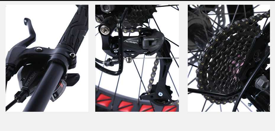 HTB1AHOOa42rK1RkSnhJq6ykdpXaZ Love Freedom High Quality Bicycle 7/21/24/27 Speed 26*4.0 Fat Bike Front And Rear Shock Absorbers double disc brake Snow bike