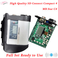 2018 diagnostic tool sd connect MB Star C4 scanner with cf19 laptop for cars and truck ready to use obd2 device quick ship
