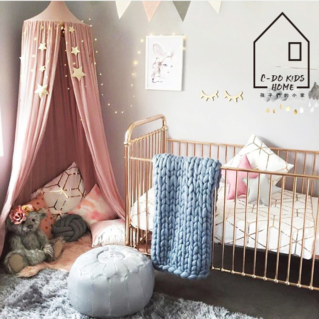 240cm Height Natural Cotton Kids Play Tent Mosquito Net Bedroom Decor Children Room Decoration Playing Tents & 240cm Height Natural Cotton Kids Play Tent Mosquito Net Bedroom ...