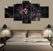 Azrael Anime 5 Piece Modern HD Print Wall Art Canvas Art For Living Room Decor Painting Wall Art Painting Home Decor Picture urban hd print wall art canvas painting modern home canvas wall art for living room painting modern decor home decor picture